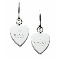 Gucci-YBD223993001-Heart-Engraved-Silver-Earrings-Jewelry