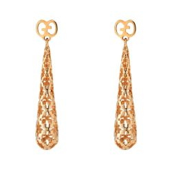 Gucci-YBD341254002-Diamantissima-Rose-Gold-Earrings-Jewelry