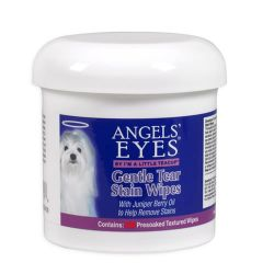 Angels-Eyes-AEGTSW200-Dogs-Gentle-Tear-Stain-Wipes-Supplement-200ct