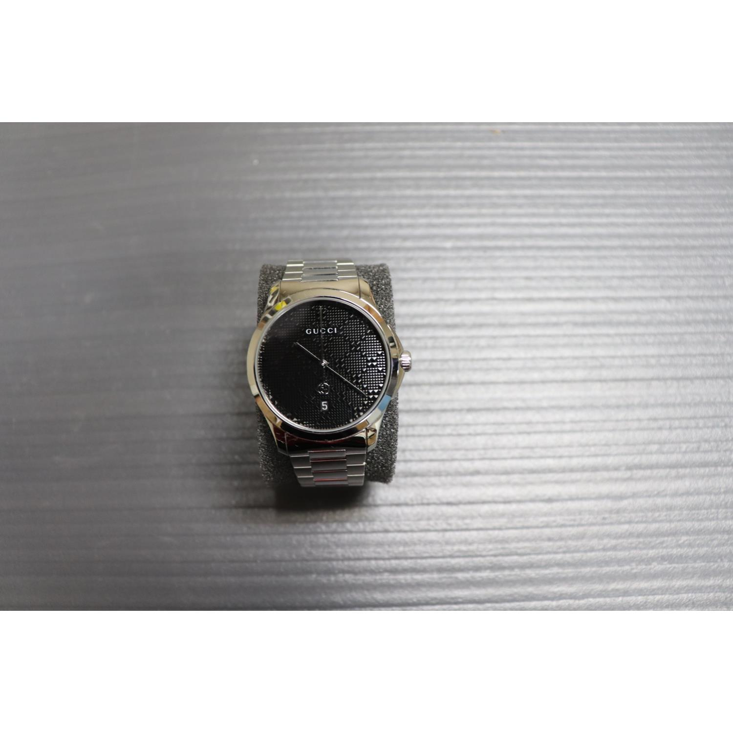 8f4cf50d875 Gucci YA126460 Mens Watch 38mm Stainless Steel Swiss Made