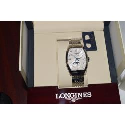 Longines-L26714786-Mens-Swiss-Automatic-Silver-Textured-Face