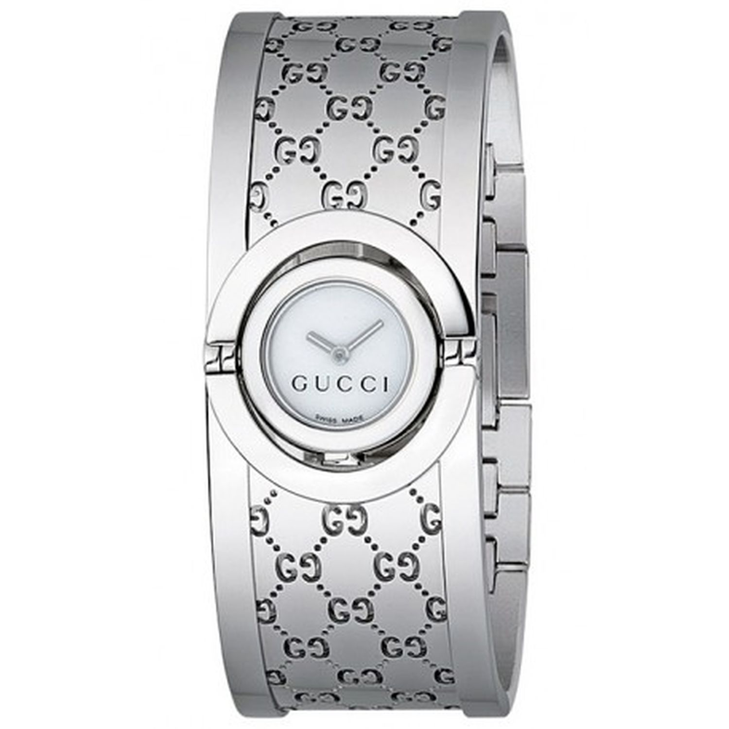 75f3b49e891 Gucci YA112510 Womens Twirl Mother of Pearl Quartz Watch