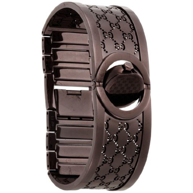 bd7b04d486c Gucci YA112532 Womens Twirl Brown Quartz Watch