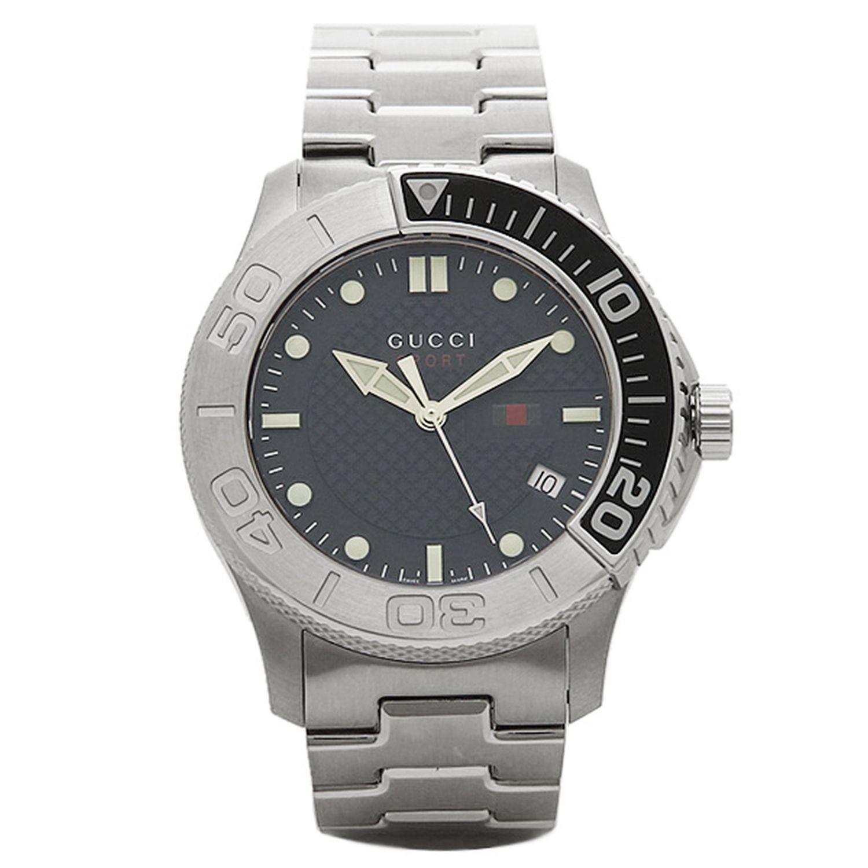 cb01ea0d3b7 Gucci YA126253 Mens G Timeless Silver Quartz Watch