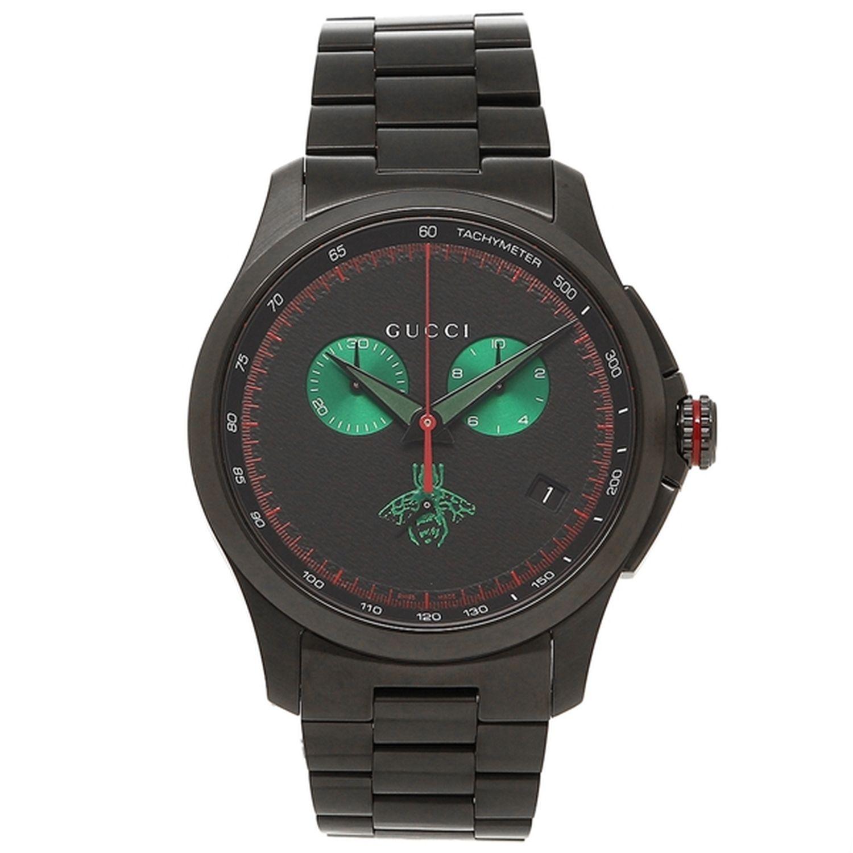 16acd51215b Gucci YA126270 Mens G TIMELESS Black Quartz Watch