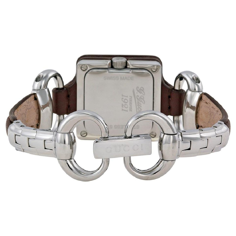 54e97310326 Gucci YA130403 Womens Gucci 1921 Brown Quartz Watch