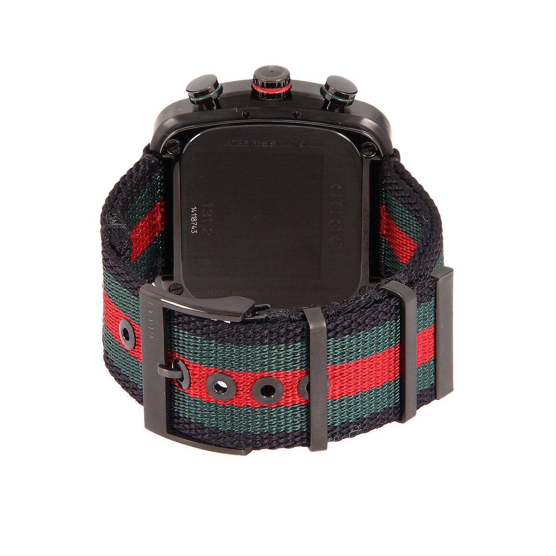 7c143ac36 Gucci YA131202 Mens G Coupe Black Quartz Watch