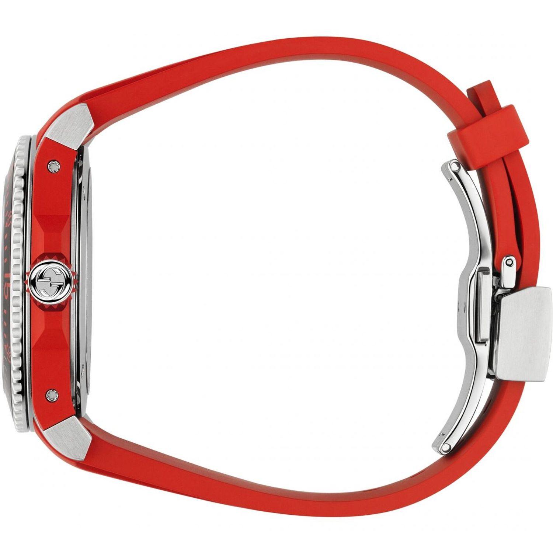 450bd4e1d30 Gucci YA136309 Mens Dive Black Quartz Watch