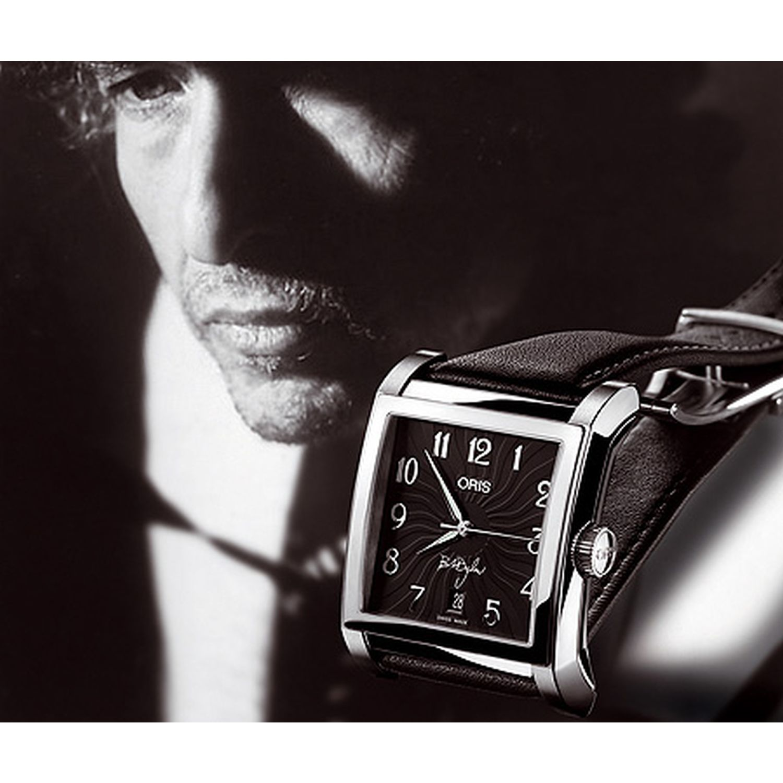 d8ea55b83887 Oris 733-7618-4084LS Mens Bob Dylan Black Automatic Watch