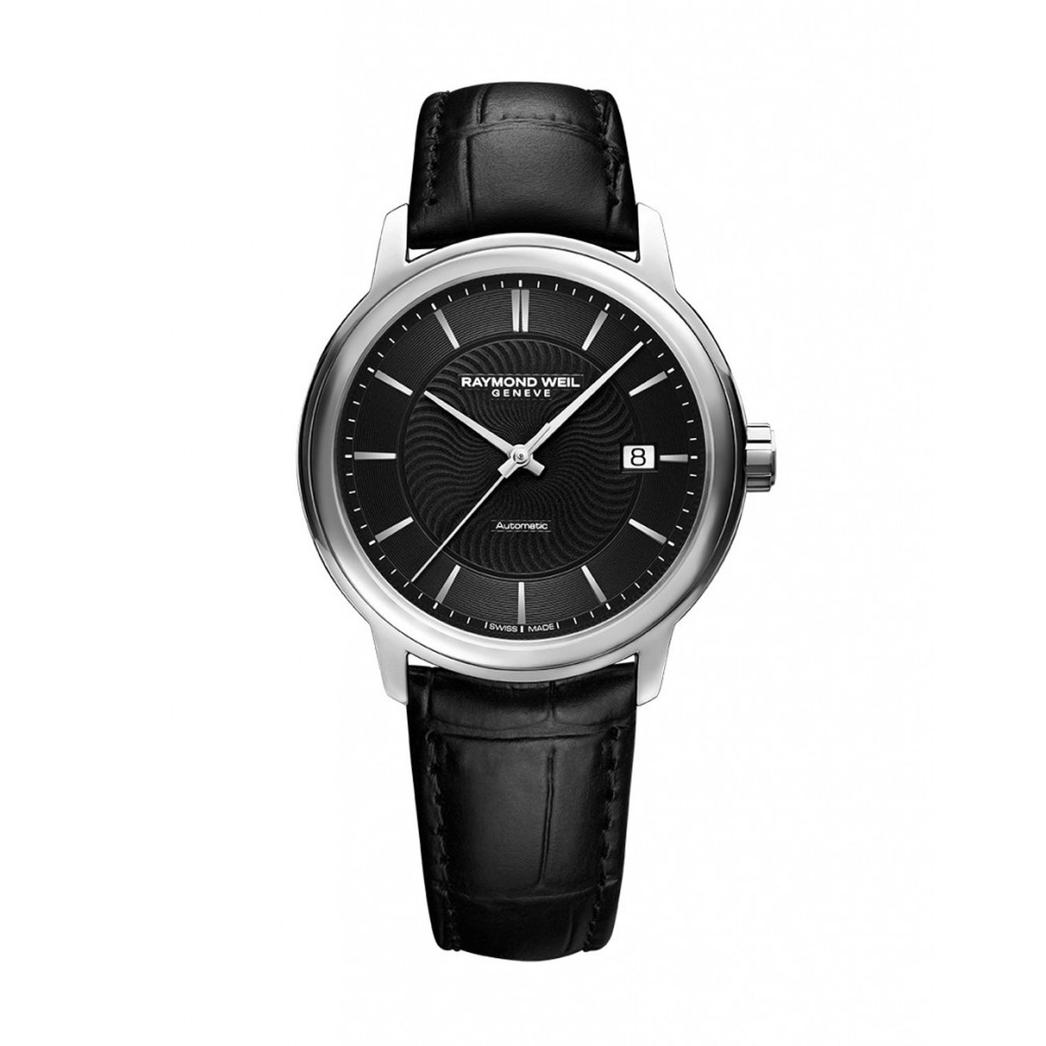 Raymond weil 2237 stc 20001 mens maestro silver automatic watch for Raymond watches