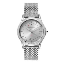 Armani-ARS1101-Mens-Swiss-Made-Silver-Quartz-Watch
