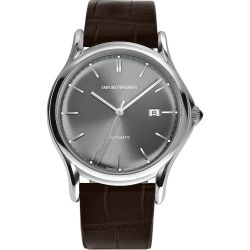 Armani-ARS3000-Mens-Swiss-Made-Gray-Automatic-Watch