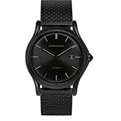 Armani-ARS3014-Mens-Swiss-Made-Black-Automatic-Watch