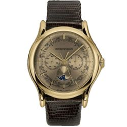 Armani-ARS4203-Mens-Swiss-Made-Yellow-gold-Quartz-Watch
