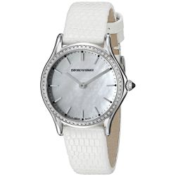 Armani-ARS7010-Womens-Swiss-Made-Silver-Quartz-Watch