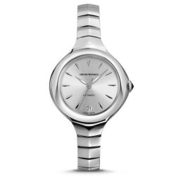 Armani-ARS8202-Womens-Swiss-Made-Silver-Automatic-Watch