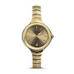 Armani-ARS8205-Womens-Swiss-Made-Yellow-gold-Automatic-Watch