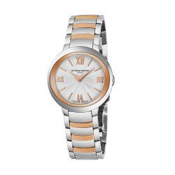 Baume-Mercier-MOA-10159-Womens-Promese-Two-Tone-Quartz-Watch