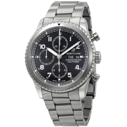 Breitling-A13314101B1A1-Mens-Navitimer-Black-Automatic-Watch