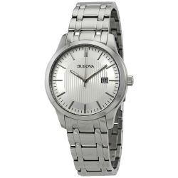 Bulova-96B245-Mens-Classic-Silver-Quartz-Watch