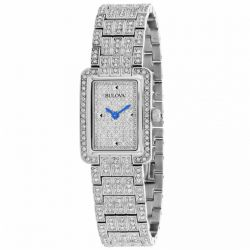 Bulova-96L244-Womens-Crystals-collection-Silver-Quartz-Watch