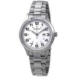 Bulova-96M142-Womens-Japan-Movt-White-Quartz-Watch