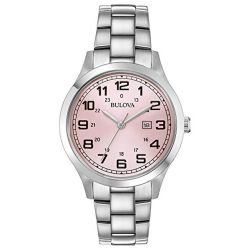 Bulova-96M143-Womens-Japan-Movt-Pink-Quartz-Watch