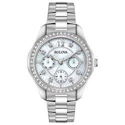 Bulova-96N111-Womens-Crystal--Mother-of-Pearl-Quartz-Watch