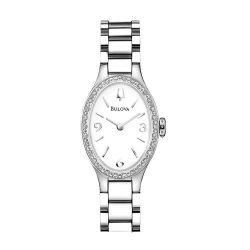 Bulova-96R191-Womens-Diamond-White-Quartz-Watch