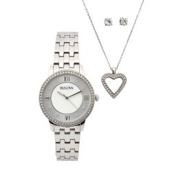 Bulova-96X138-Womens-Swarvoski-Silver-Quartz-Watch