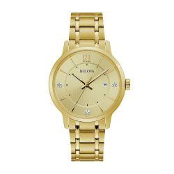 Bulova-97D117-Mens-Diamond-Yellow-Quartz-Watch