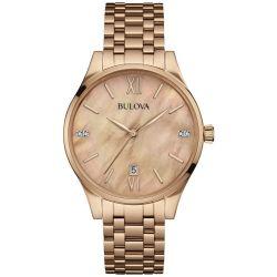 Bulova-97P113-Womens-Diamond-Rose-Gold-Mother-of-Pearl--Quartz-Watch