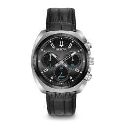 Bulova-98A155-Mens-Curve-collection-Black-Quartz-Watch