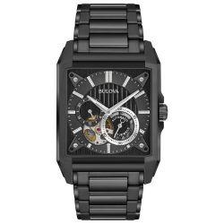 Bulova-98A180-Mens-Automatic--Black-Automatic-Watch