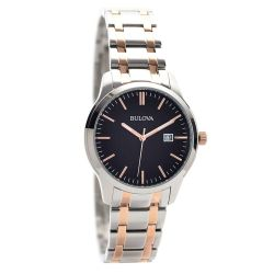 Bulova-98B264-Mens-Classic-Black-Quartz-Watch