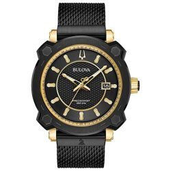 Bulova-98B303-Mens-Precisionist-Black-Quartz-Watch