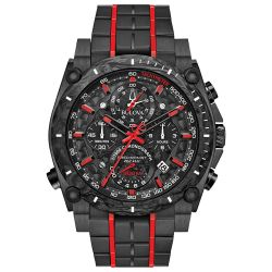 Bulova-98B313-Mens-Precisionist-Black-Quartz-Watch