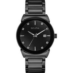 Bulova-98D121-Mens-Diamond-Black-Quartz-Watch