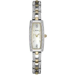 Bulova-98L214-Womens-Crystal-Two-Tone-Quartz-Watch