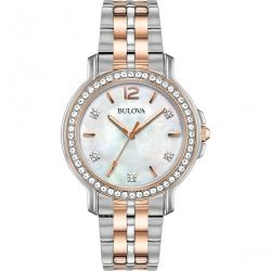 Bulova-98L242-Womens-Crystal-Collection--Mother-of-Pearl--Quartz-Watch