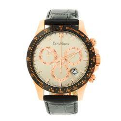 Carl-Jhones-138-102-C16-Mens-Torque-Rose-Gold-Chronograph-Rose-gold-Quartz-Watch
