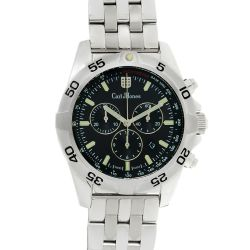 Carl-Jhones-138-107-B16-Mens-Altisimo-Chronograph-Black-Quartz-Watch