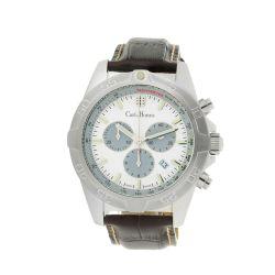 Carl-Jhones-138-107-C16-Mens-Altisimo-Classic-Chronograph-White-Quartz-Watch