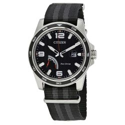 Citizen-AW7030-06E-Mens-PRT-Series-Black-Eco-Drive-Watch