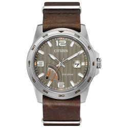 Citizen-AW7039-01H-Mens-PRT-Series-Taupe-Eco-Drive-Watch
