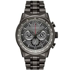 Citizen-CA4377-53H-Mens-Nighthawk-Grey-Eco-Drive-Watch