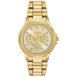 Citizen-FD2042-51P-Womens-Silhouette-Crystal--Champagne--Eco-Drive-Watch