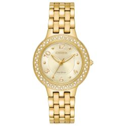 Citizen-FE2082-51P-Womens-Silhouette-Crystal-Yellow-Eco-Drive-Watch