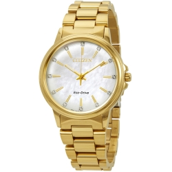 Citizen-FE7032-51D-Womens-Chandler-White-Mother-of-Pearl-Eco-drive-Watch