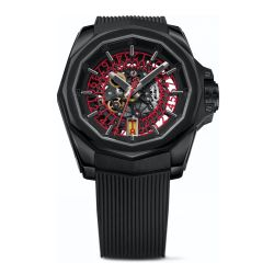 Corum-A082-03685-Mens-Admirals-Cup-Squelette-Red-Automatic-Watch